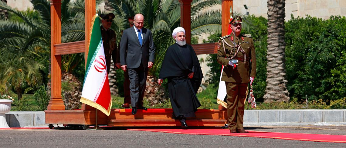 Iran's Rouhani In Iraq: A new ara in bilateral ties?