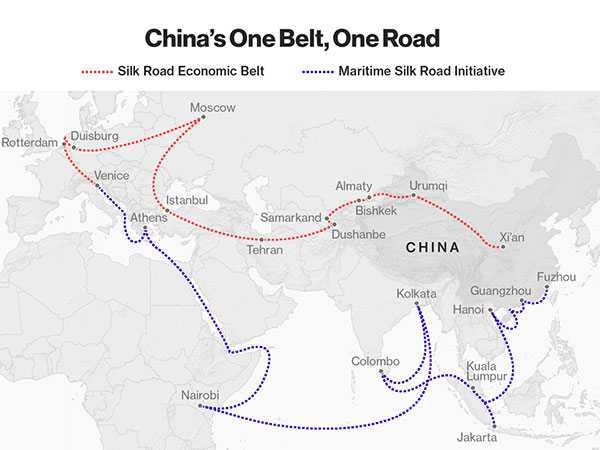 Iran's Interests in China's One Belt One Road Project